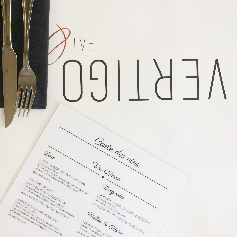 Refonte De Lidentite Graphique Du Restaurant Logo Carte Visite Menu Set Table Brochure Commerciale Site Internet